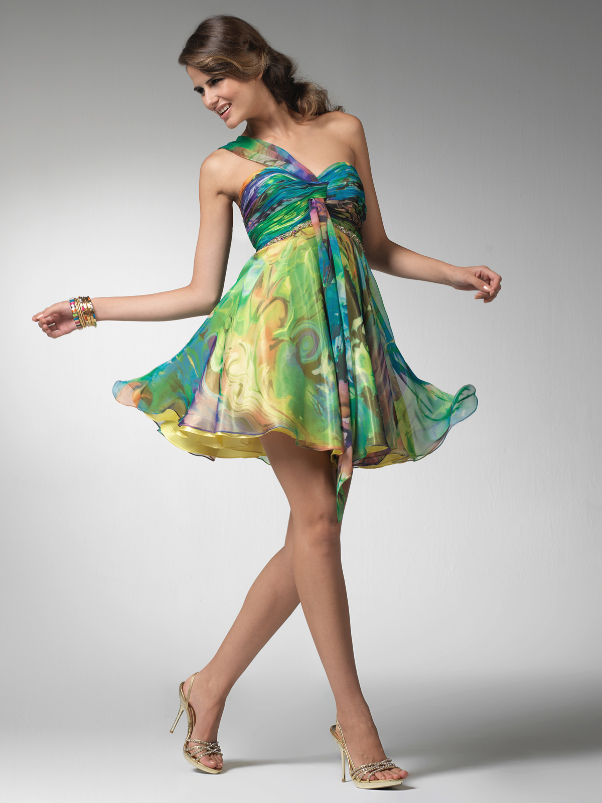 Prom dress giveaway for St. Patrick\'s Day!   Prom dresses and gowns