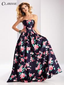 FLoral CLarisse dress 3029