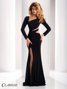 Clarisse black dress 4859
