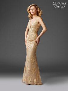 Gold Dress 4961